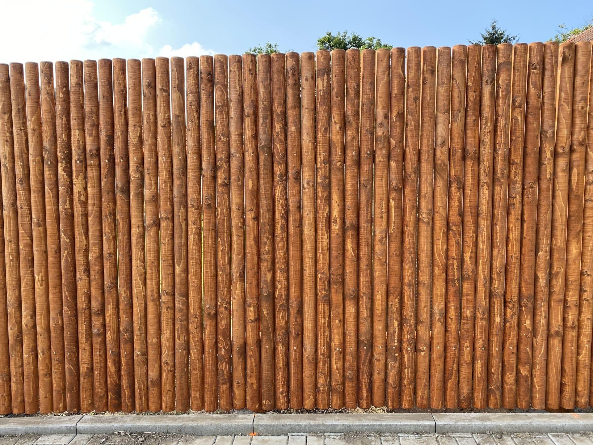 Obrázek 3 / Dřevěné ploty - strojně frézované   - realizace Bojkovice 10-2020
