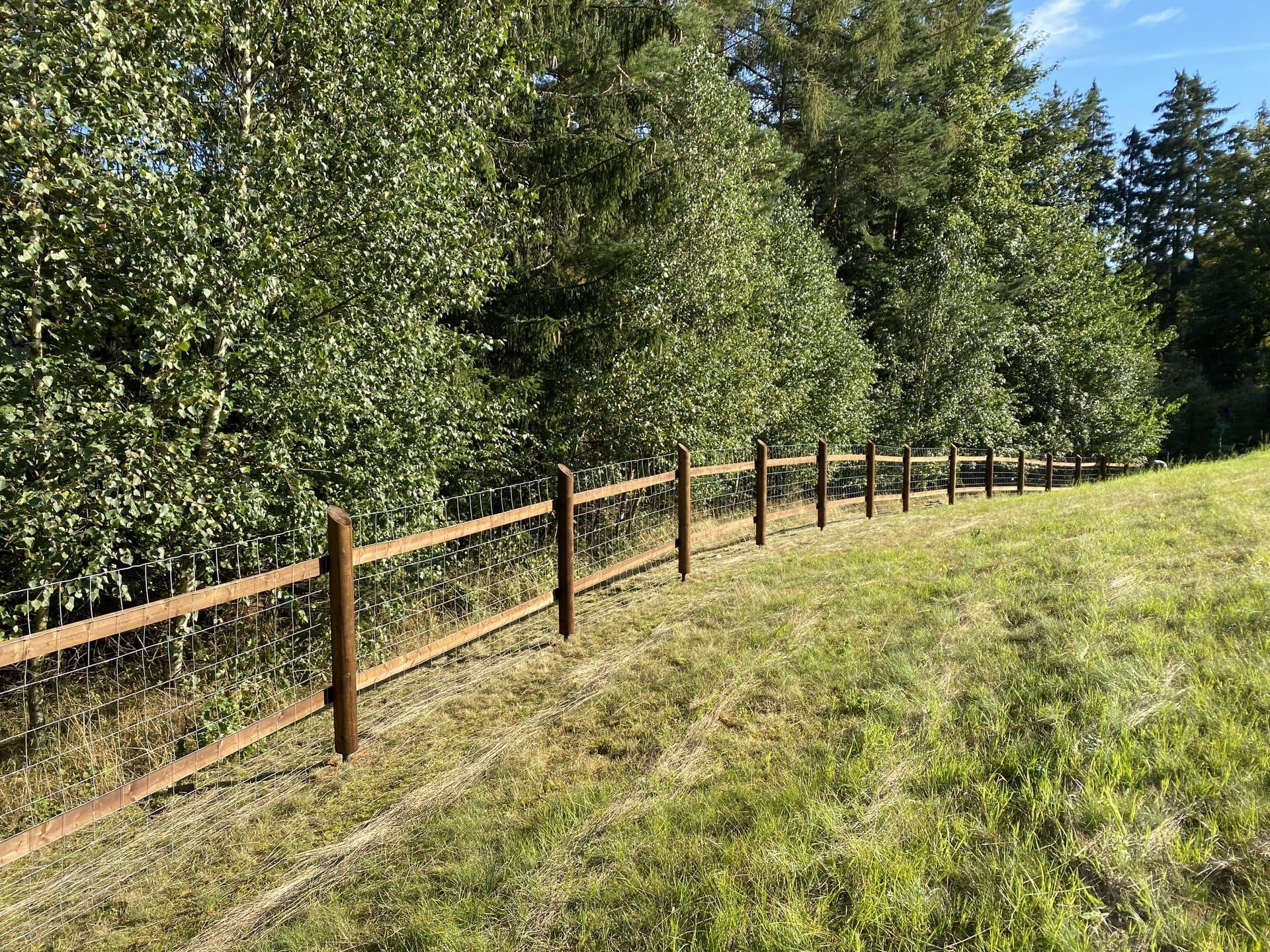 Obrázek 2 / Dřevěné ploty - strojně frézované   - realizace Staré Paky 9-2020