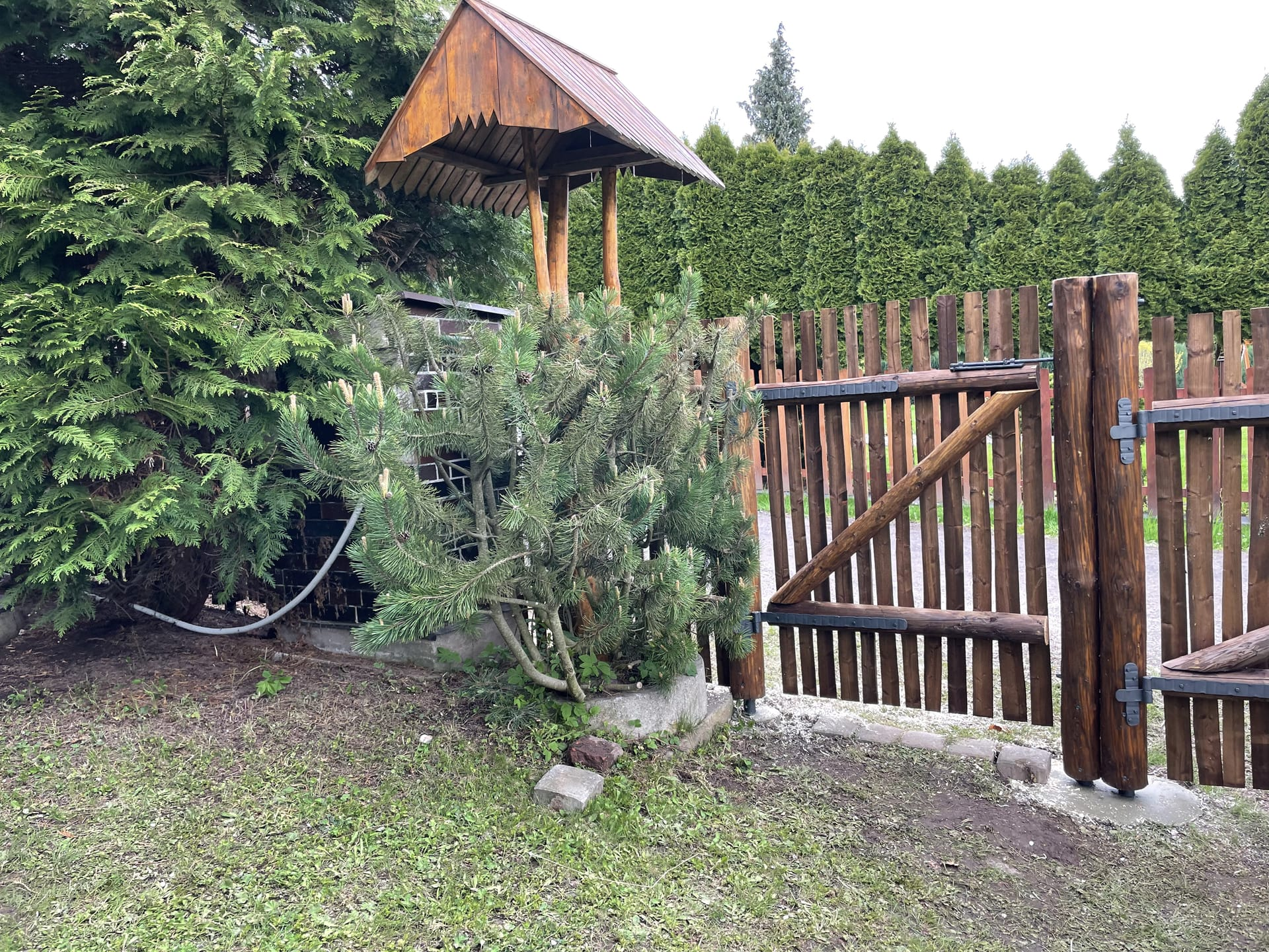 Obrázek 2 / Dřevěné ploty - strojně loupané   - realizace Vižňov 5-2021