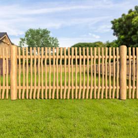 poptávka dřeveného plotu - detail náhled