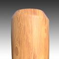poptávka dřeveného plotu - ukončení fazeta