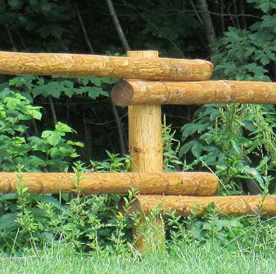 Dřevěné ohrady - plot