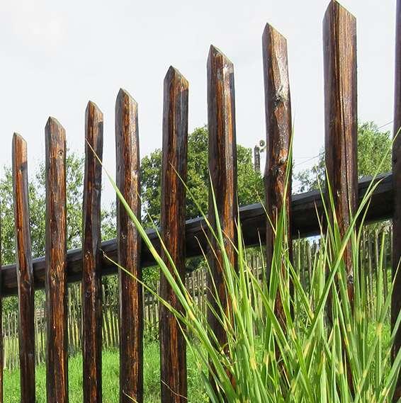 Ručně  opracované - plot