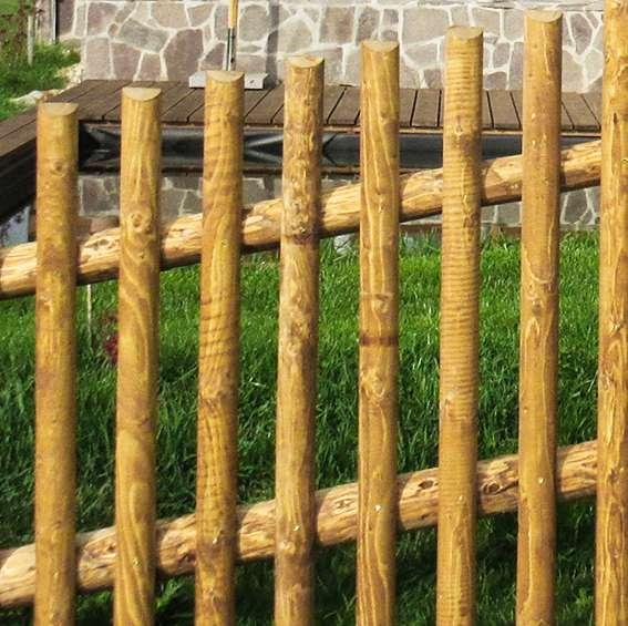 Strojně frézované - plot