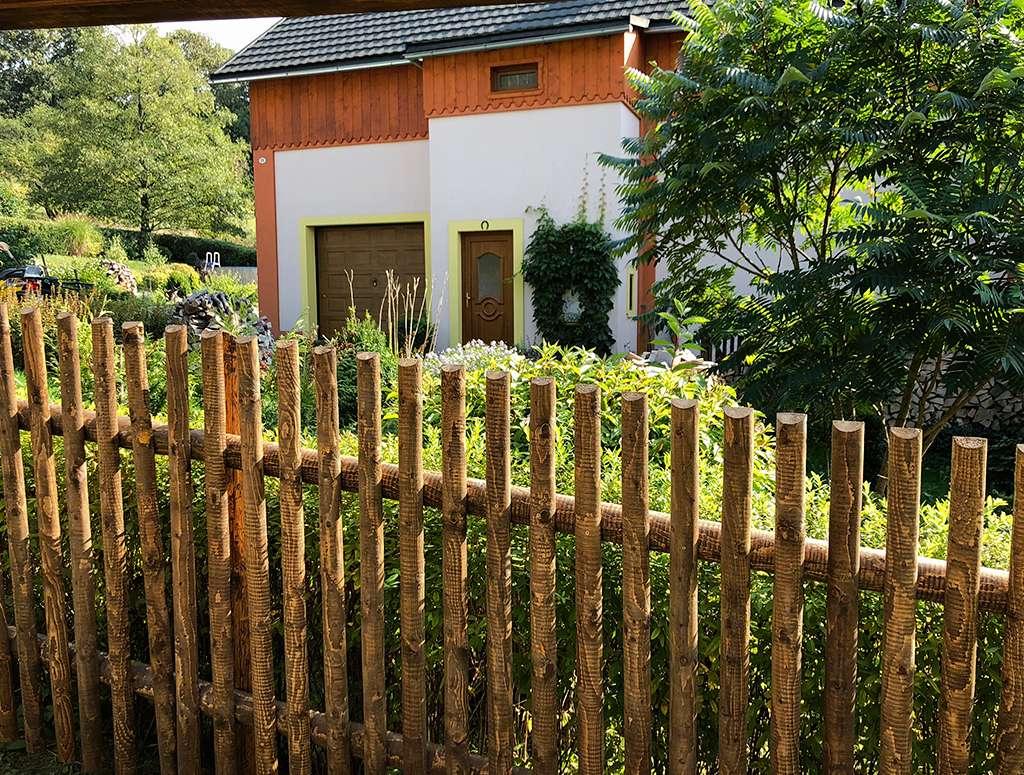 Strojně frézované - ukázka plotu