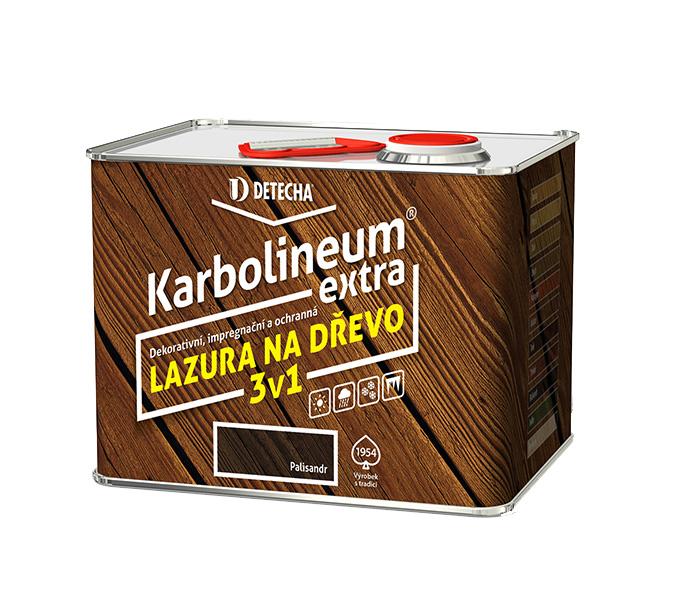 Karbolineum Extra - ukázka