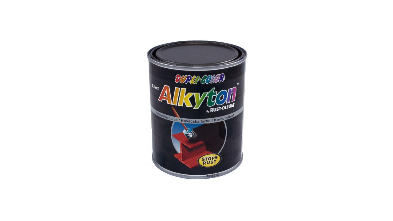 Kovářská barva Alkyton perfektní krytí a odolnost
